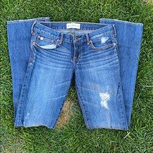 A+F kids boot cut jeans